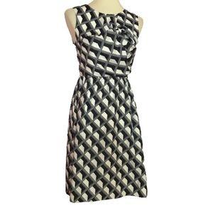 Hi there Karen Walker op art summer dress